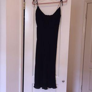 J Crew Strappy Midi dress